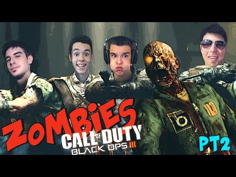TIRA LOS MONOS!!! - THE GIANT Zombies BO3 con Willy, Alpha y Grefg