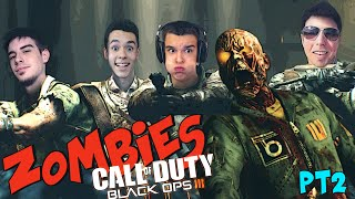 TIRA LOS MONOS!!! - THE GIANT Zombies BO3 con Willy, Alpha y Grefg