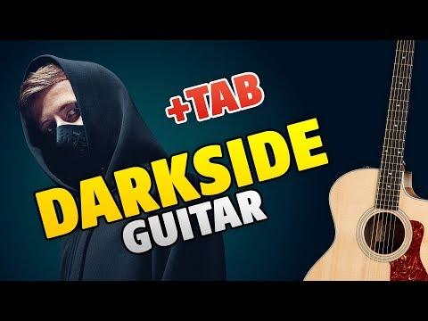 #MyDarkside Alan Walker – Darkside (fingerstyle guitar cover, easy tabs for beginners)