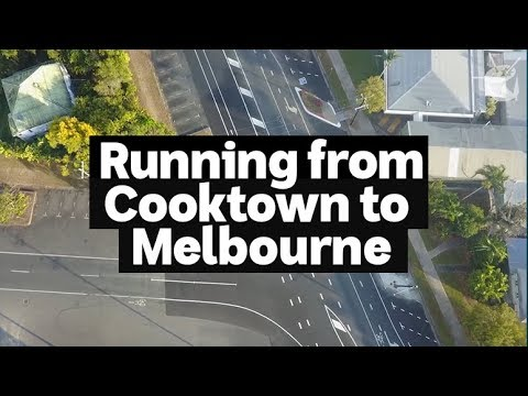 HACK: Meet the legends running from Cooktown to Melbourne