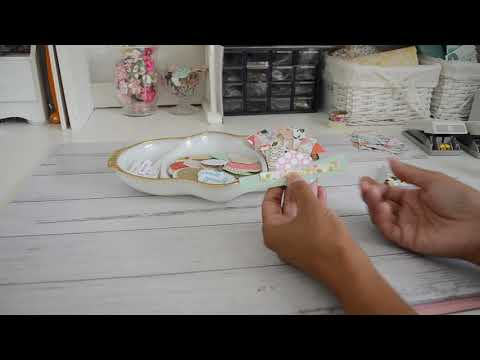 DIY Embellishments | Simply Paper Layering | Use your Scraps