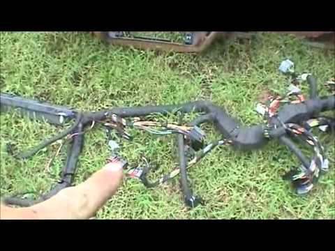 1995 Ford Crown Victoria Wiring Harness Conversion - YouTube
