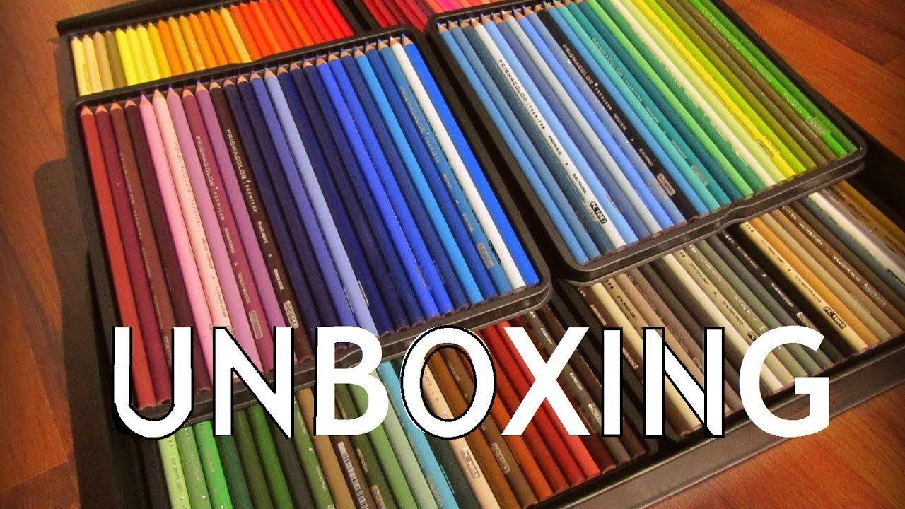 Prismacolor Premier Colored Pencils 150 Set UNBOXING