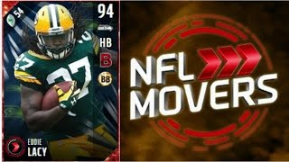 NFL Movers Eddie Lacy | Player Review | Madden 17 Ultimate Team Gameplay