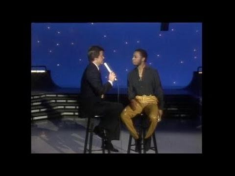 Dick Clark Interviews Jeffrey Osborne - American Bandstand 1983