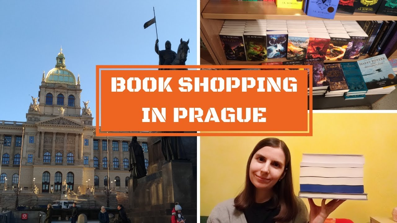 COME BOOK SHOPPING WITH ME IN PRAGUE | VLOG + HAUL