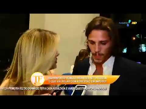 TV Fama 25/08/2014 - Rômulo Arantes Neto Sobre Cleo Pires  'A Gente Se Ajuda'