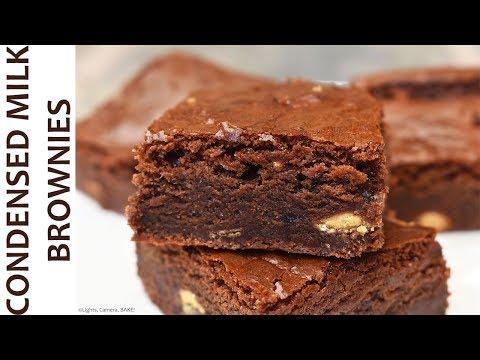 Condensed Milk Brownies | RECIPE