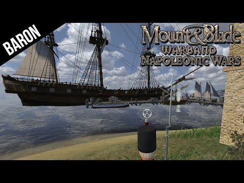 Mount and Blade Napoleonic Wars - Amphibious Invasion!  I'm Better Than Stalin!