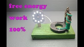 Amazing Free Energy Using Magnet 100% - 2019