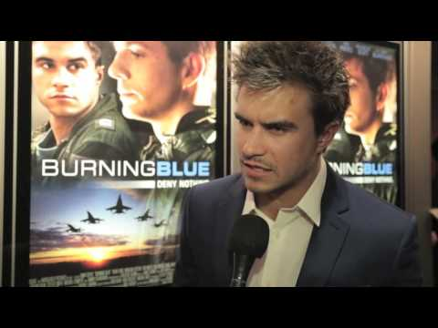 Rob Mayes talking about Burning Blue