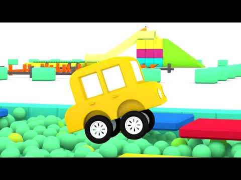 Lehrreicher Zeichentrickfilm Die 4 Kleinen Autos Fahren Ein Rennen