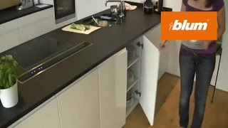 CLIP top BLUMOTION in the daily kitchen work
