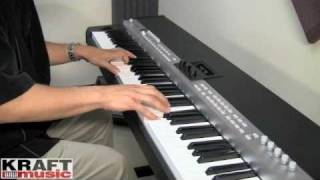 Kraft Music - Yamaha CP5 Stage Piano Demo with Tony Escueta
