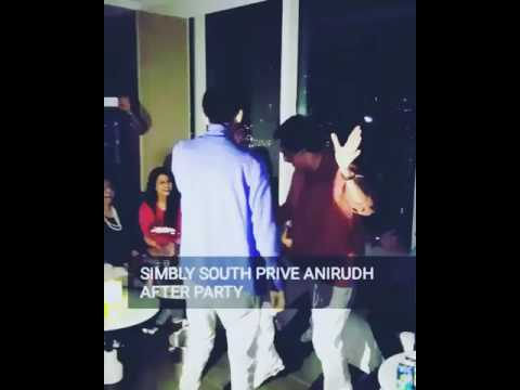 Anirudh's cute dance with his dad