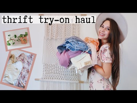 THRIFT WITH ME | goodwill outlet haul