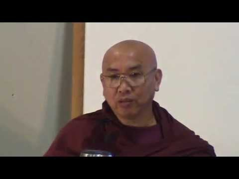 Nov 15, 2008 Visuddhimagga by Venerable Sayadaw U Jotalankara at TDS Dhamma Class