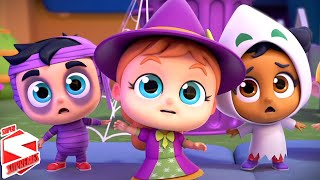 Here We Go Out On Halloween | Scary Nursery Rhymes and Children Songs | Halloween Rhyme for Kids