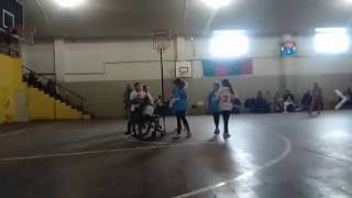 Cestoball e inclusión: Gol de Virginia Navarro. Toay vs Estudiantes, en La Pampa