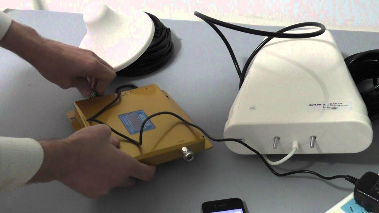 Обзор Усилитель сотового сигнала SmartB A14 (GSM990) - YouTube