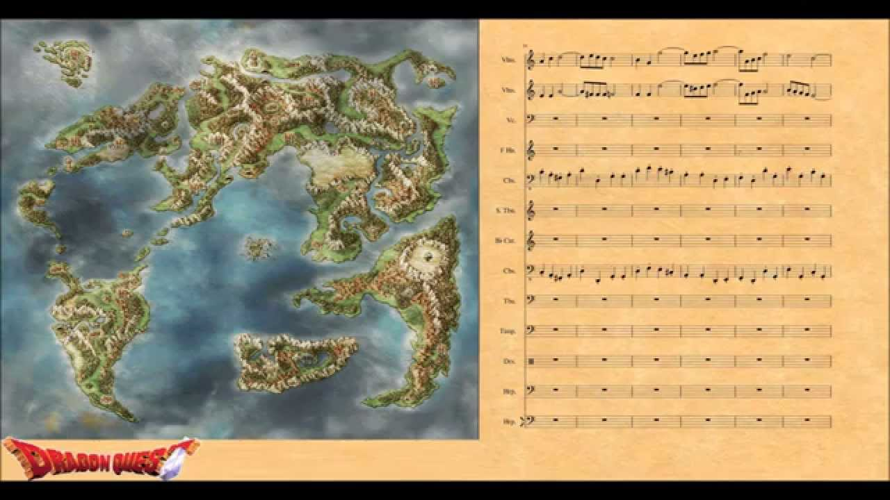Dragon Quest IMain Theme Orchestrated YouTube