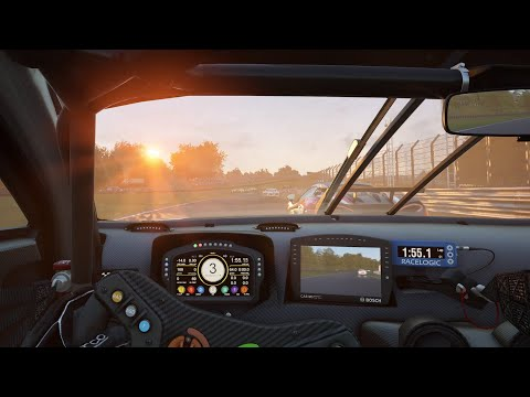 Oulton Park AI Multiclass Race - Assetto Corsa Competizione |