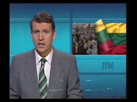 ITN News & ITV National Weather plus TSW Continuity - 1990