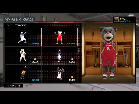 Mascots On Sale | Pacers Mascot | NBA 2K16 My PARK