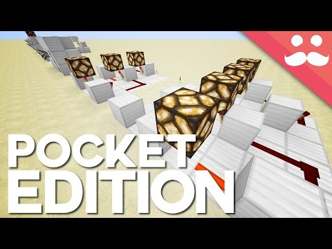 10 Redstone Circuits You Can Build in Minecraft Pocket Edition!