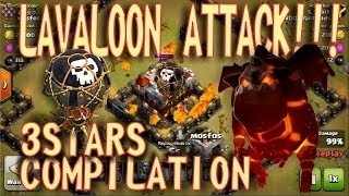 Clash of Clans || Th11 3 Star Attack LAVALOONION || LOW LEVEL HEROES || CoC Strategy
