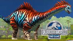 Jurassic World: Das Spiel #57 - Der STUFE 40 DIPLODOCUS & der REX FRISST DOLLARS!   LP JW Deutsch