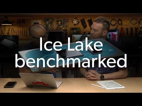 Intel 10th gen Ice Lake performance preview