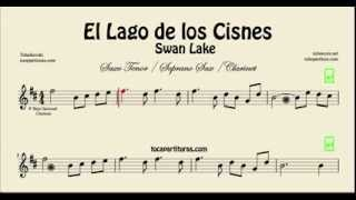Swan Lake Sheet Music for Tenor Saxophone Soprano Saxophone and ClarinetEl Lago de los Cisnes