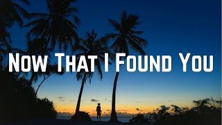 Carly Rae Jepsen - Now That I Found You (Lyrics)