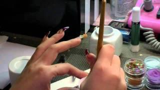 MOSAIC tips,Acrylic Nails tutorial Thumbnail