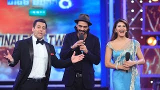 Jacqueline Fernandez & Arjun Rampal Rock The Bigg Boss Finale Episode - BT