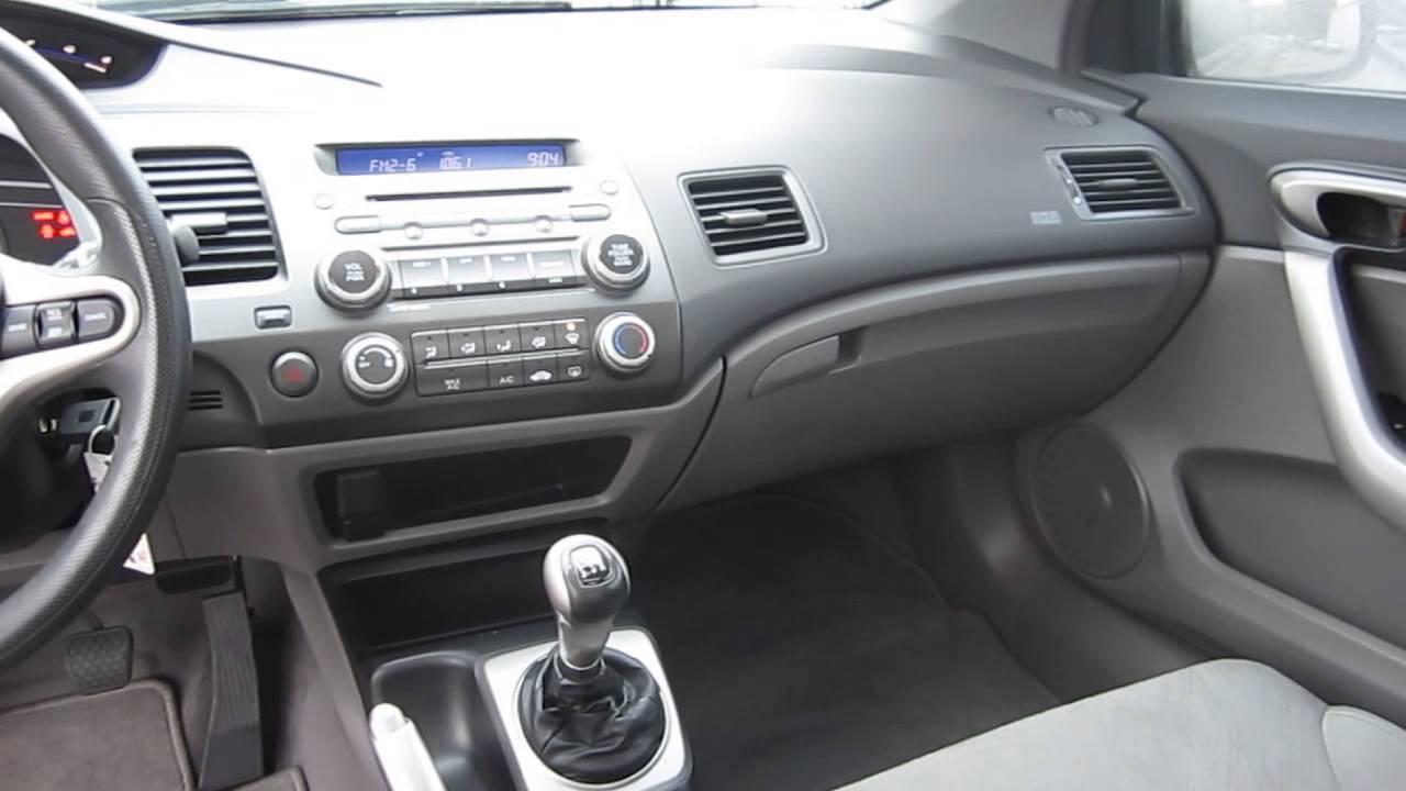 Wonderful 2008 Honda Civic, Galaxy Gray Metallic   STOCK# 13004P   Interior