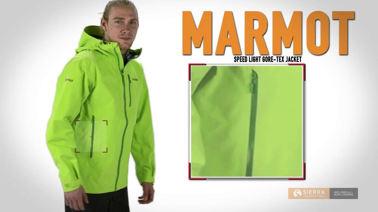 Marmot Speed Light Gore-Tex® Pro Jacket - Waterproof (For Men ...