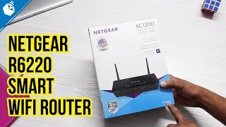 Netgear R6220 Smart WiFi Router Unboxing and Overview [Hindi]