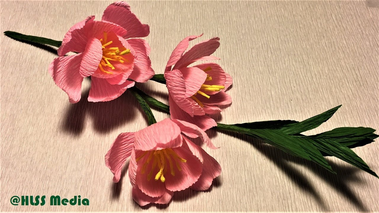 How to make an easy origami cherry blossom paper flower step by step how to make an easy origami cherry blossom paper flower step by stepcrepe paper flower making easy mightylinksfo