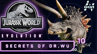 Jurassic World Evolution Deutsch DLC Dr Wu Stegoceratops Genom Deutsch German #10