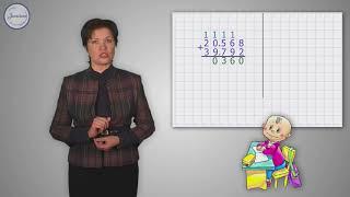 Сложные случаи сложения многозначных чисел