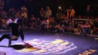 Wu-tan vs Monmoi. Red Bull BC One Osaka Cypher 2015. Best 4