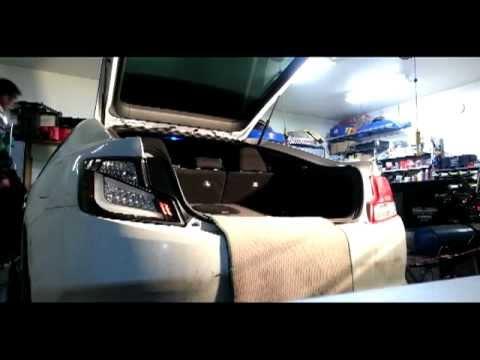 Spec D LED tail light install on 2012 Scion tC  YouTube
