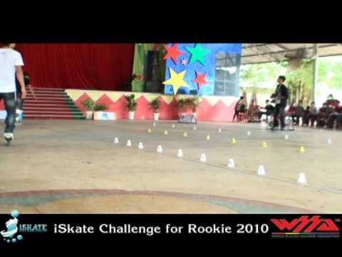 iSkate Challenge for Rookie 2010 & Sân chơi Patin