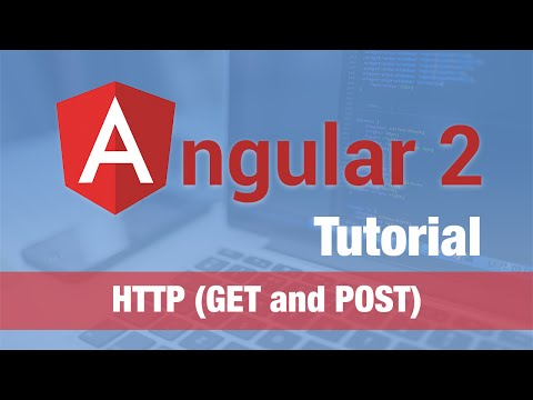Angular 2 Tutorial (2016) - HTTP (GET and POST to RESTful Se