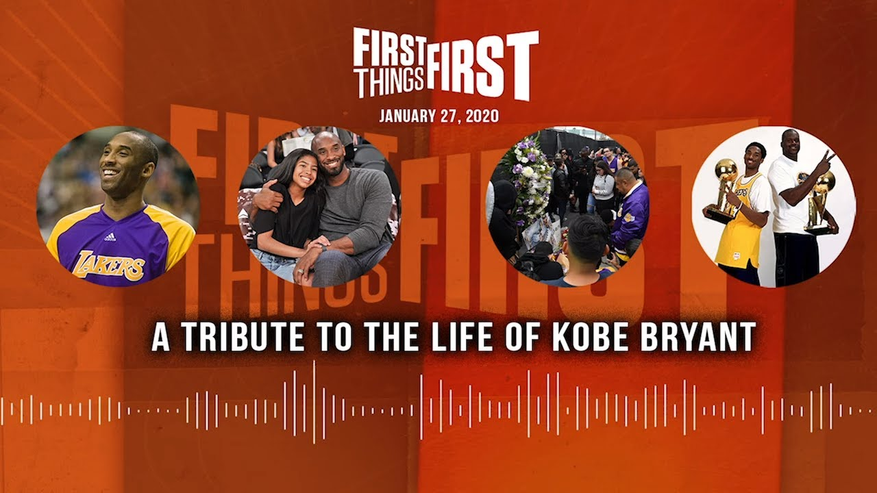 LIVE from Miami: A Tribute to the Life of Kobe Bryant (01.27.20) | FIRST THINGS FIRST Audio Podcast