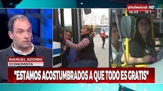 """Manuel Adorni en """"Crónica TV"""", con Gustavo Chapur y Sofia Monachelli - 12/10/18"""