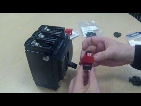 Mccb Lockout For Schneider Nsx250