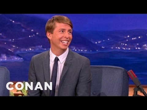 Jack McBrayer's Back Yard Is Infested With Crows  CONAN on TBS